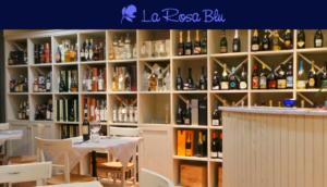 La Rosa blu ristorante Quarrata