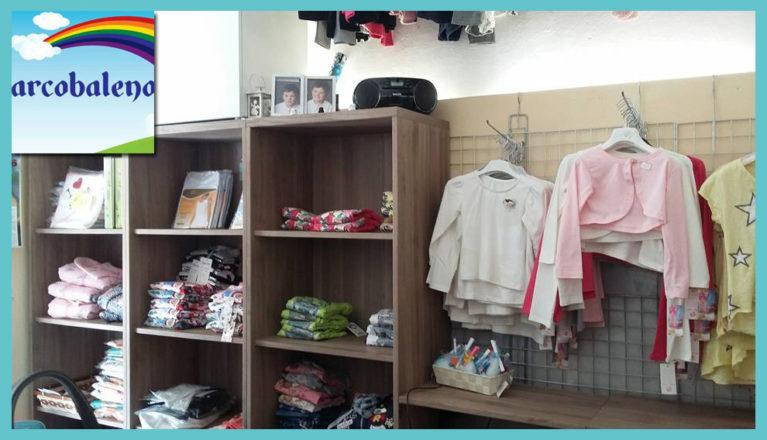 negozio per bambini a Quarrata ARCOBALENO