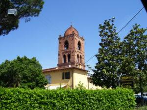 Vignole (Quarrata) campanile della Chiesa di San Michele